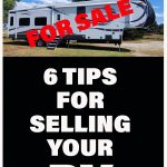 6 Tips for selling your RV