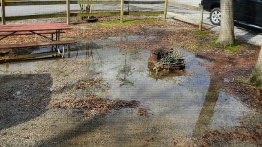 A tale of RV park floods and leaks