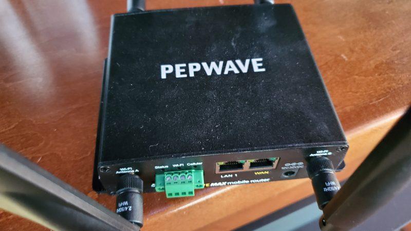 RV Internet: Pepwave BR1 MK2