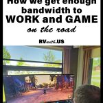 RV Internet: How we get enough bandwidth to work and game on the road