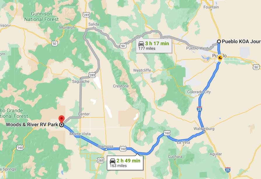 Month 3 on the road - Pueblo to Del Norte Colorado