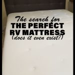The perfect RV mattress
