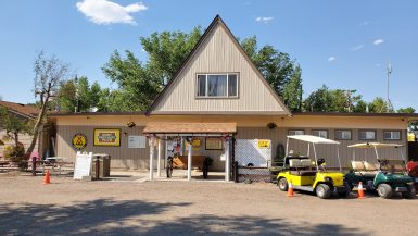 KOA campground office