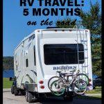 5 months of full-time RV travel living