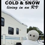 Surviving unexpected cold & snow living in an RV