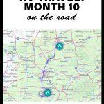 month 10 full time travel - fulltime rv life